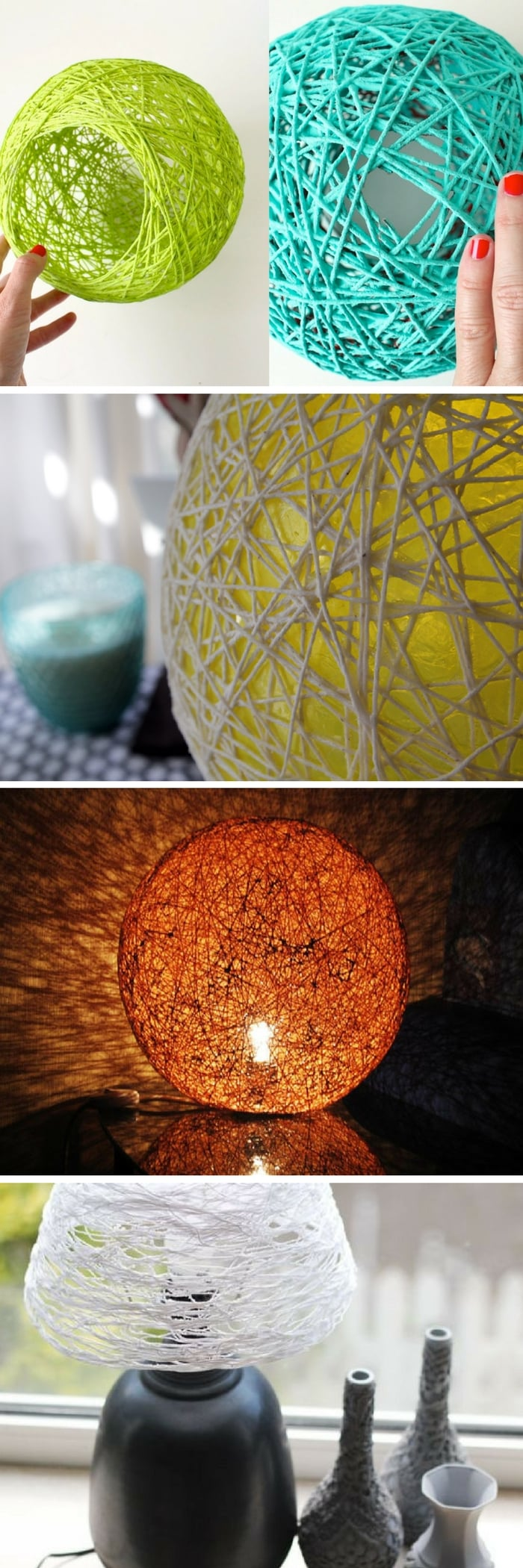 25 Diy Lamp Shade Projects