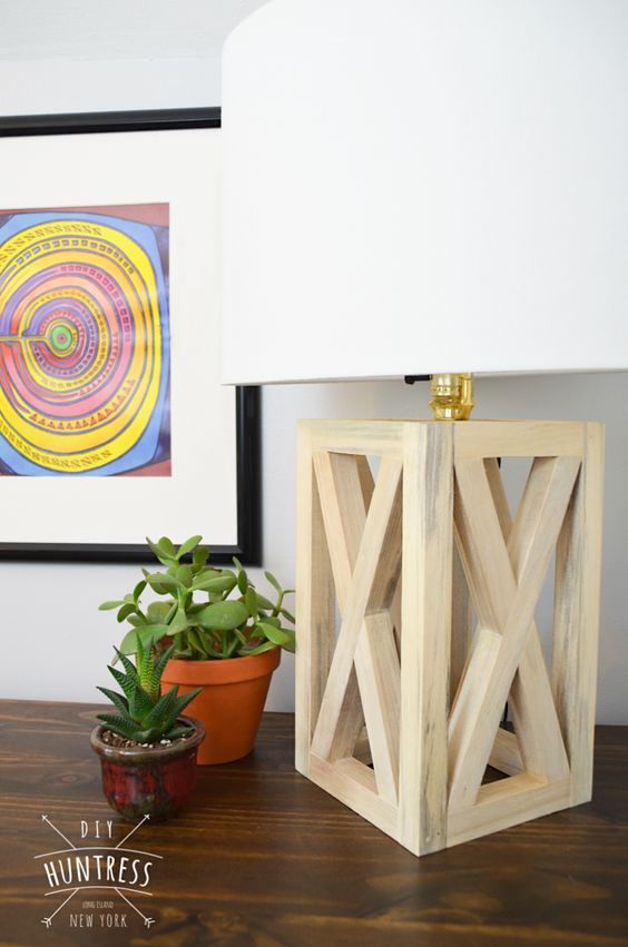 diy projects lamp creative