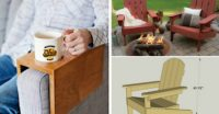 20+ diy furniture and woodworking projects