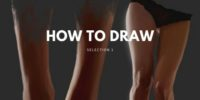 how to draw easy, digital art