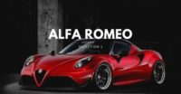 Alfa romeo – car inspired