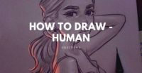 How to draw – human