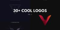 30+ cool logos – golden ratio