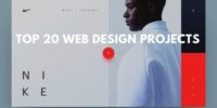 Top 20 web design projects for yor inspiration