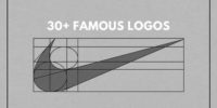 30+ famous logos –  design evolution and creation