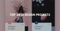 Top 20 ui design projects