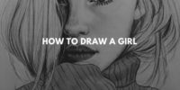 30+ ideas on how to draw a girl
